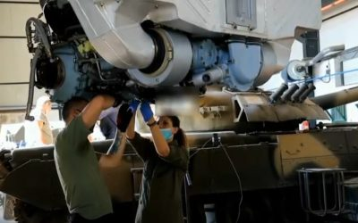 National Guard | Powerplant maintenance for Main Battle Tanks – VIDEO