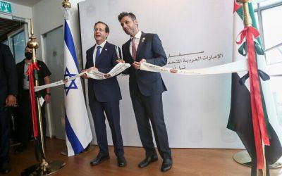 United Arab Emirates opens embassy in Tel Aviv – VIDEO