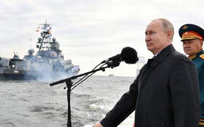 Ρωσία丨Γιορτάζει τα 325 χρόνια του Ρωσικού Πολεμικού Ναυτικού – VIDEO