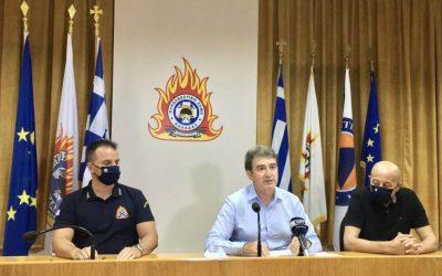 Πυρκαγιές Ελλάδα | Έκτακτη ενημέρωση από Υπουργό Προστασίας του Πολίτη