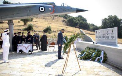 Μνήμη Πεσόντων Αεροπόρων   Επίσκεψη Υφυπουργού Εθνικής Άμυνας στο Θέρμο Αιτωλοακαρνανίας