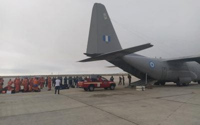 Αποστολή Πυροσβεστικής και Πολιτικής Άμυνας σε Ελλάδα – Φωτογραφίες