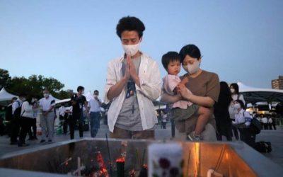 Ιαπωνία | 76η επέτειος από τη ρίψη της ατομικής βόμβας στη Χιροσίμα εν μέσω Ολυμπιακών Αγώνων