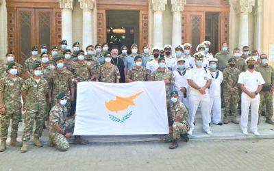Ημέρα Ενόπλων Δυνάμεων Κύπρου στο Ναό του Ευαγγελισμού της Αλεξάνδρειας – ΦΩΤΟΓΡΑΦΙΕΣ & VIDEO
