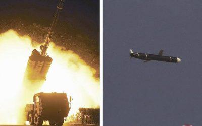Βόρεια Κορέα | Δοκιμές Πυραύλων Κρουζ Μεγάλου Βεληνεκούς