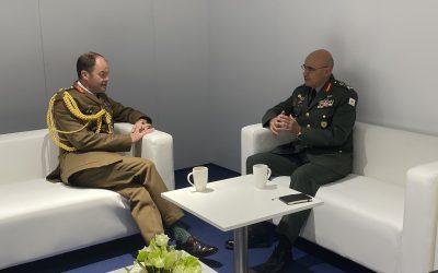 DSEI 2021 | Επίσκεψη Αρχηγού Εθνικής Φρουράς στο Ηνωμένο Βασίλειο