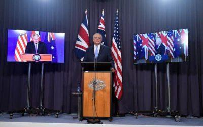 Σύμφωνο AUKUS | Κοινή δήλωση ΗΠΑ, Βρετανίας, Αυστραλίας – VIDEO
