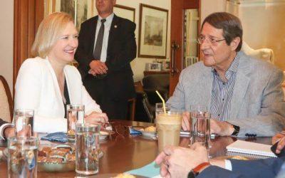 Κυπριακό | Συνάντηση Αναστασιάδη με Σπέχαρ – Νέες Προκλητικές Δηλώσεις Τατάρ